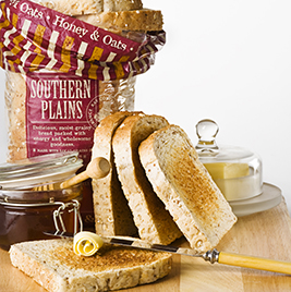 Southern Plains Honey & Oat Bread