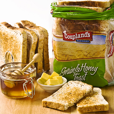 Premium Grain and Honey Toast