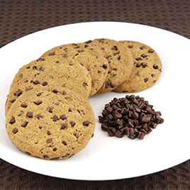 Super chocolate chip biscuits