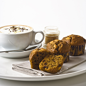 Cappuccino coffee muffin