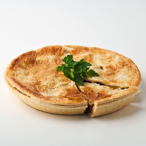 Family mince & vegetable pie
