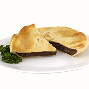 Family steak and vege pie