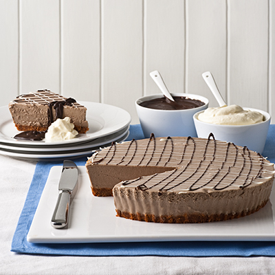 Classic Chocolate Cheesecake
