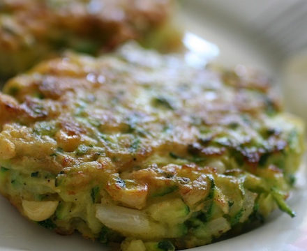 Green fritters recipe