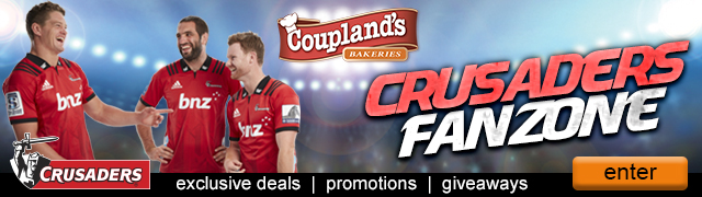 Fanzone Email Banner with Crusaders players