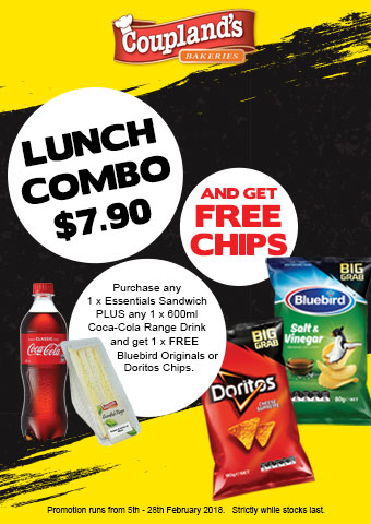 Lunch Combo with Free Chips