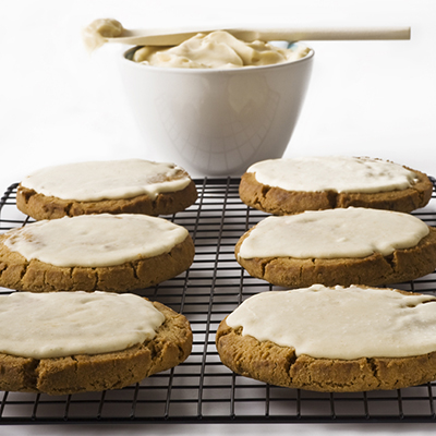 Jumbo Ginger Crunch Cookie