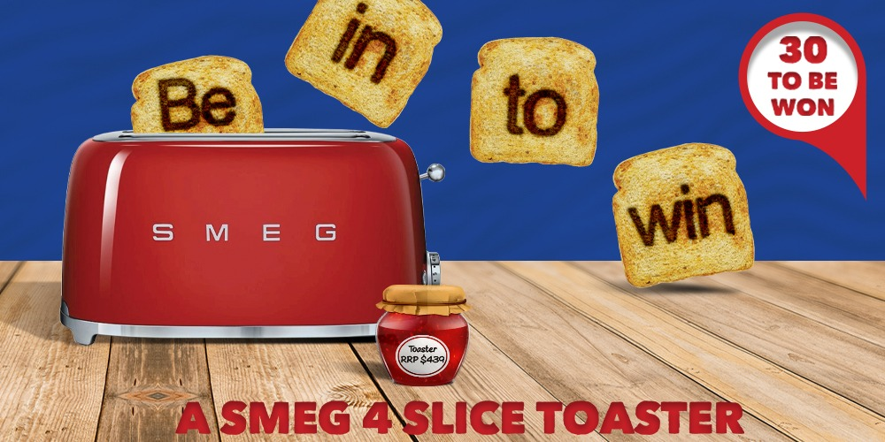 Smeg Toaster Competition