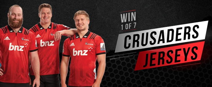 Win A Crusaders Jersey