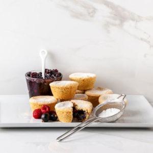 Gluten Free Berry Bites