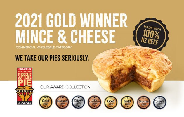 WINNER – The Best Of The Best Mince And Cheese Pie
